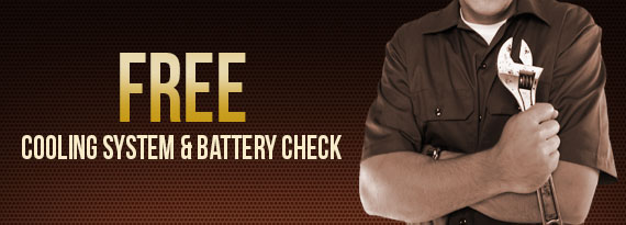 Cooling System & Battery Check Coupon Lake Zurich IL